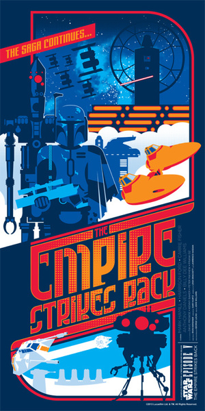 fan made empire strikes back poster
