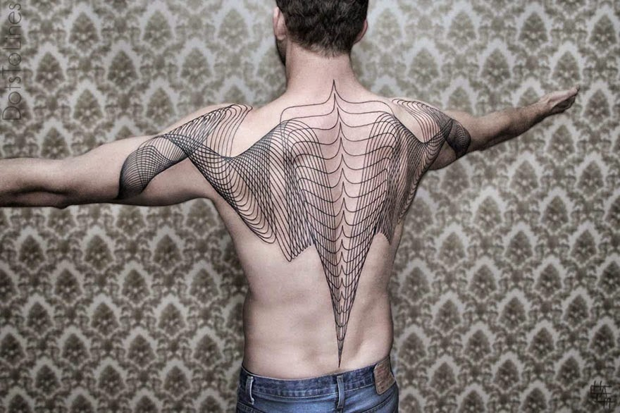 minimalistic tattoos chaim machlev