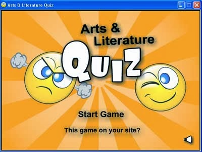 Arts and Literature Quiz v1.0