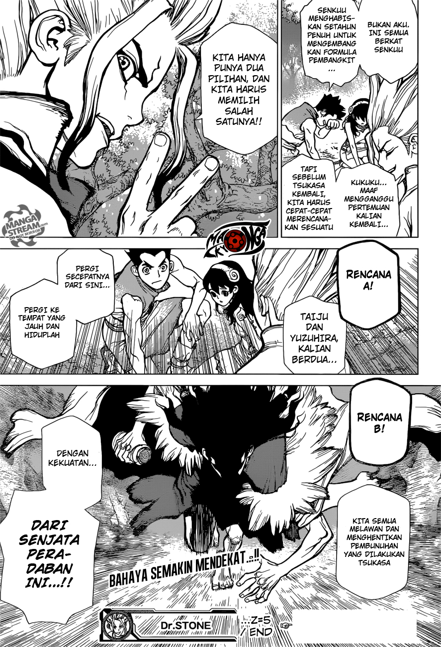 Dr. Stone Chapter 05-17