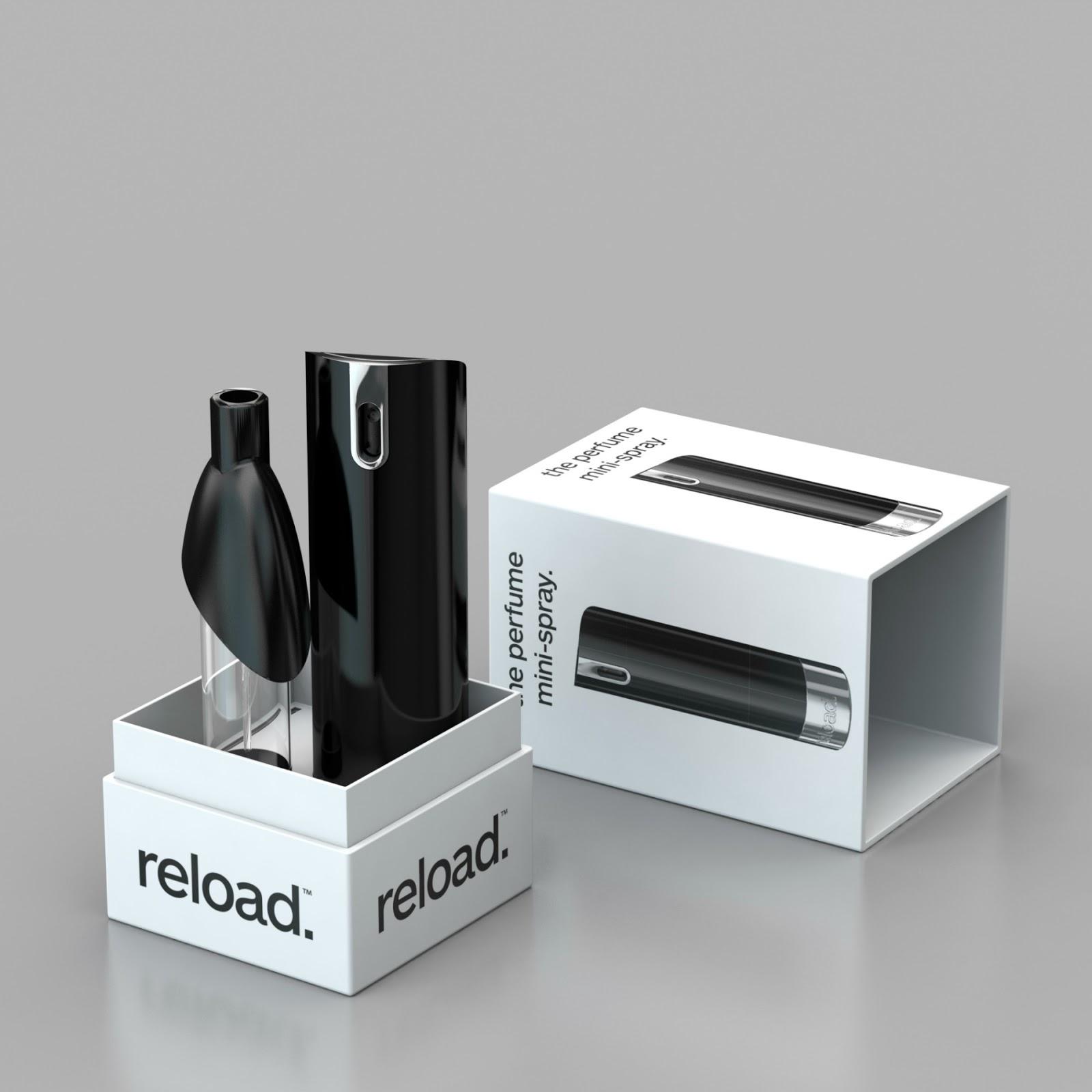 Reload. navulbare minispray