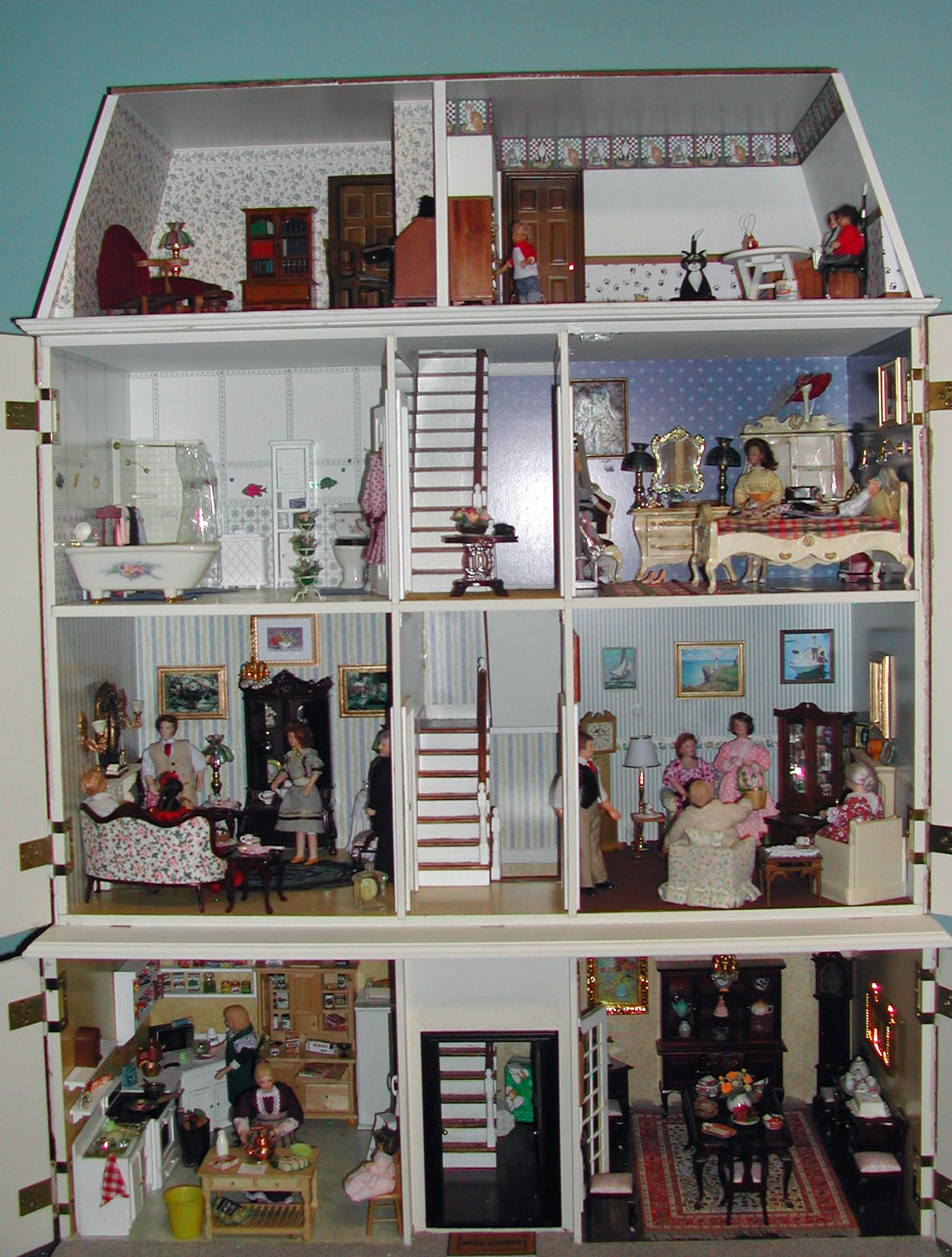 the gallery for inside the full house house now