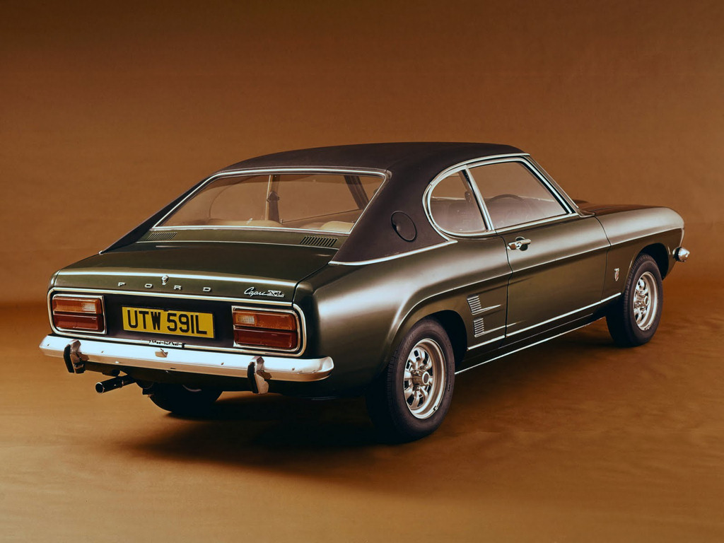 Avengers In Time 1969 Cars Ford Capri