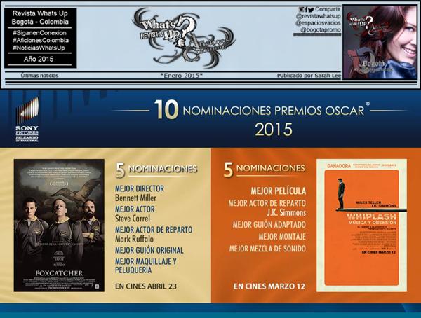 Sony-Pictures-presenta-nominaciones-premios-oscar-2015
