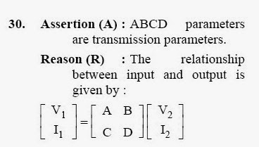 2013 September UGC NET in Electronic Science, Paper II, Question 30