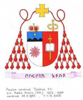 Lo Stemma Cardinalizio di Sua Eminenza Card. PAULOS TZADUA