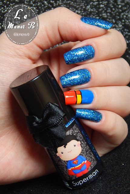 nail art superman