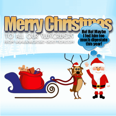 Merry Christmas from the Anaerobic Digestion Blog - image