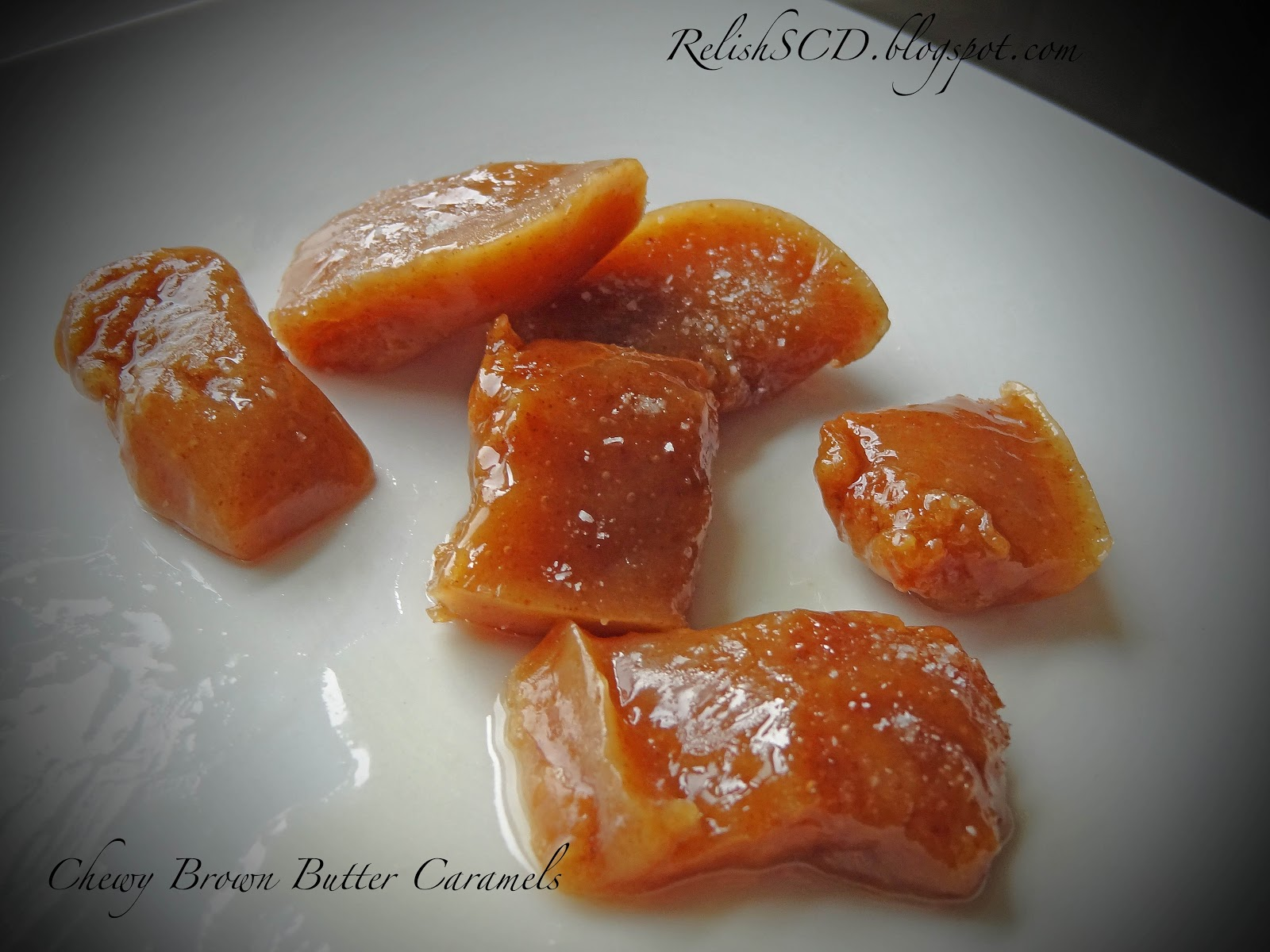 Salted Paleo: Brown Butter Caramel Candies