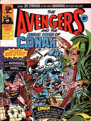 Marvel UK, Avengers and Conan #118