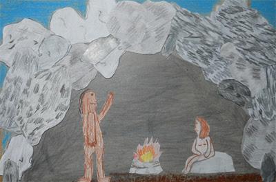 Lozainetto laboratorio di storia le abitazioni dell for Piani di caverna dell uomo