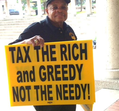 tax the poor