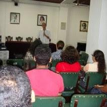 "Conferência  do  Me. e  Prof.  Ayrson  Heráclito ""Compromissos  do  Arte Educador  e do Artista"