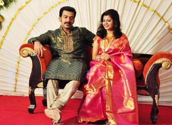Fanboy Gallery Prithviraj Supriya Menon Wedding Reception