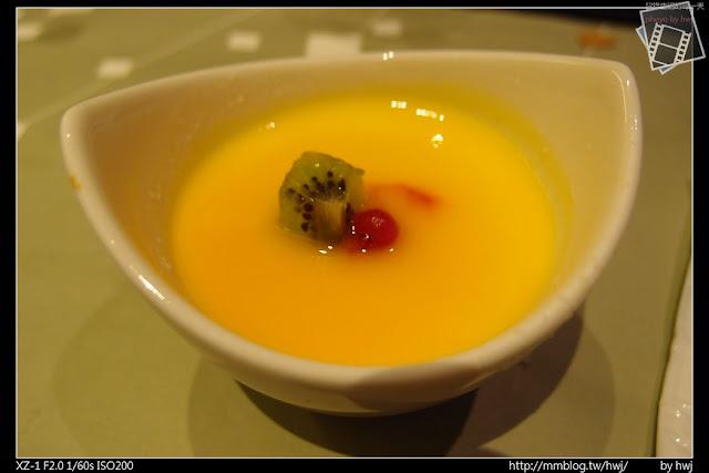 2013-05-09虎尾陶板屋 甜點:芒果優格布雷