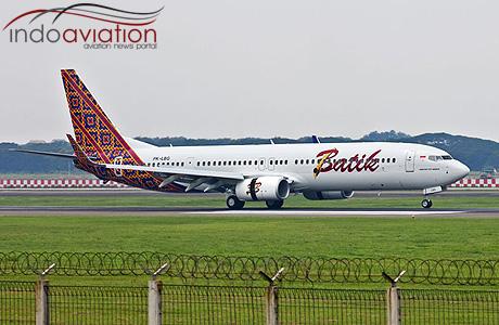 Batik Air Boeing 737-900ER PK-LBG