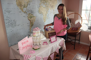 decoracin mesa baby shower