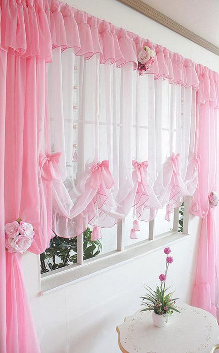 Decoraci n de cortinas para el hogar lodijoella for Cortinas para el hogar