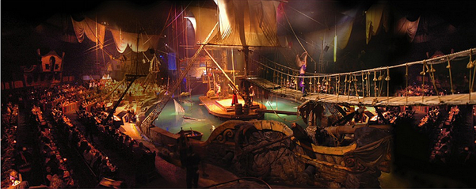 Pirates Dinner Adventure stage
