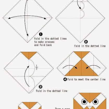 Easy Origami Owl Instructions Lektonfo