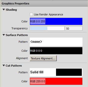 how to change the shadded color in revit