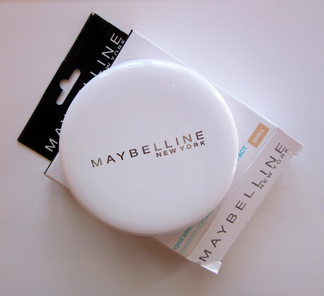 Maybelline white super fresh compact powder shell
