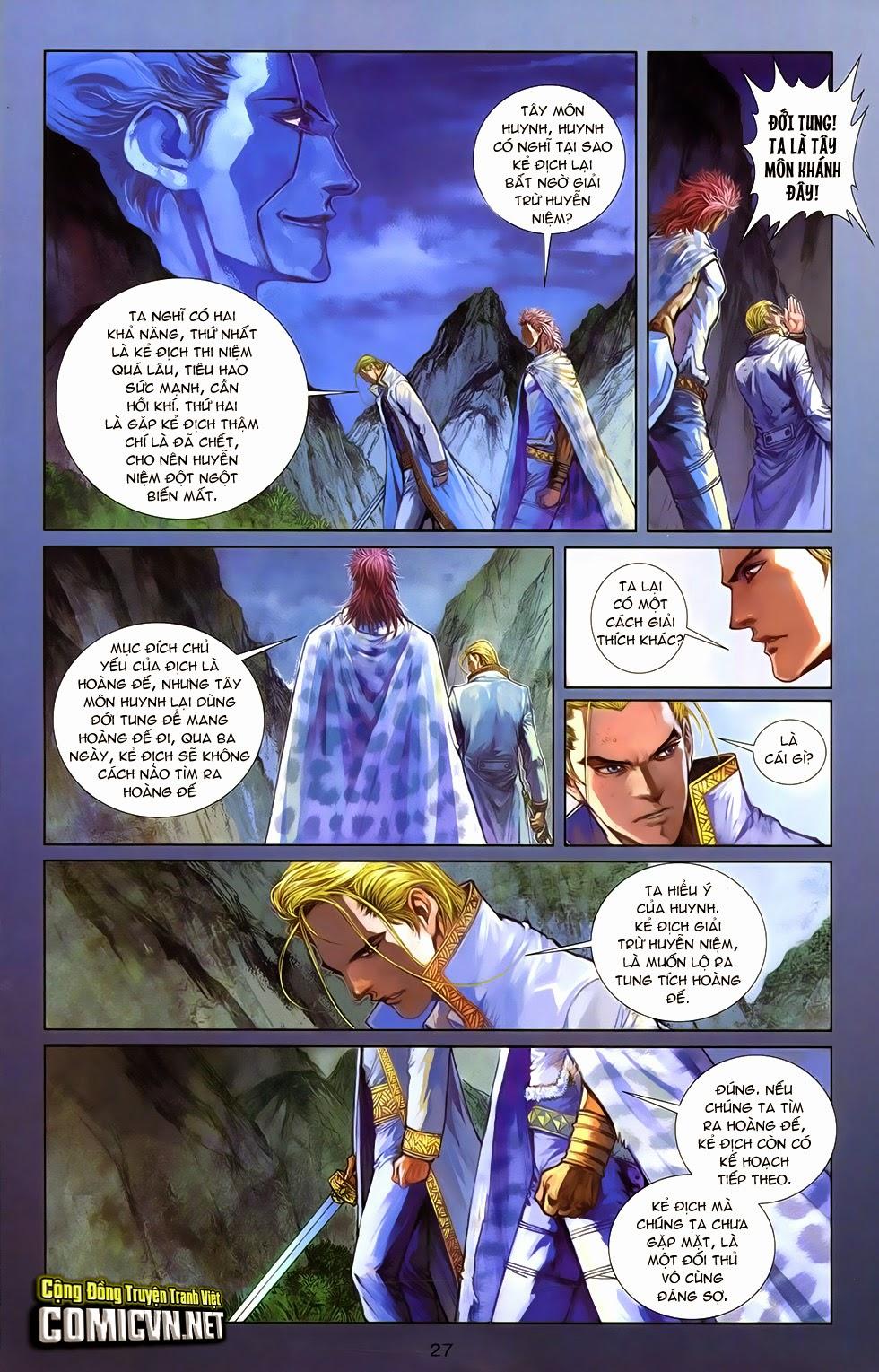 xem truyen moi - 108 - Tân Thuỷ Hử - Chapter 13a: Tẫn diệt khung thương