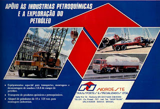 propaganda Nordeste transporte especializado - 1977;  trucks; brazilian cars; reclame de carros anos 70. brazilian advertising cars in the 70. os anos 70. história da década de 70; Brazil in the 70s; propaganda carros anos 70; Oswaldo Hernandez;