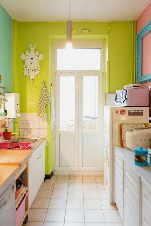 Ways to add color in kitchen / Maneras de agregar color a la cocina ...