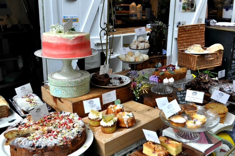 Cakes at St Nicholas Market Bristol