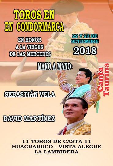 Cartel Condormarca - Cajamarca