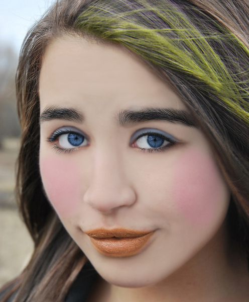 Apply Face Makeup in Photoshop