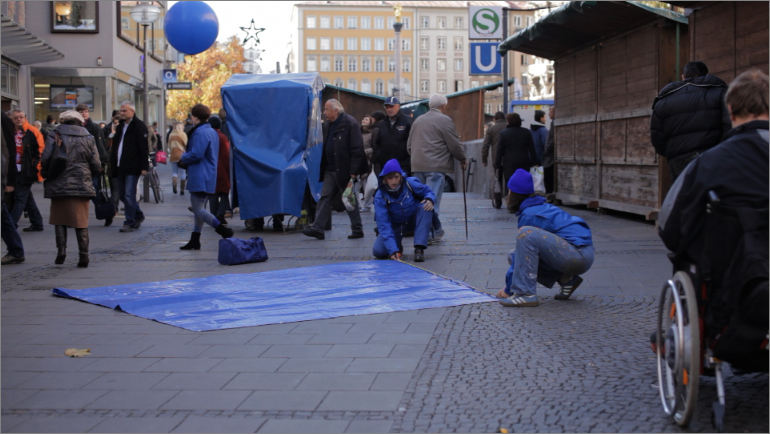 25.11.2011 / 14:30-16:00 WITHIN - PLATZ SCENE, Marienplatz - Munich