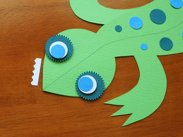 Как сделать из бумаги голову ящерицы - БТЛ-страна