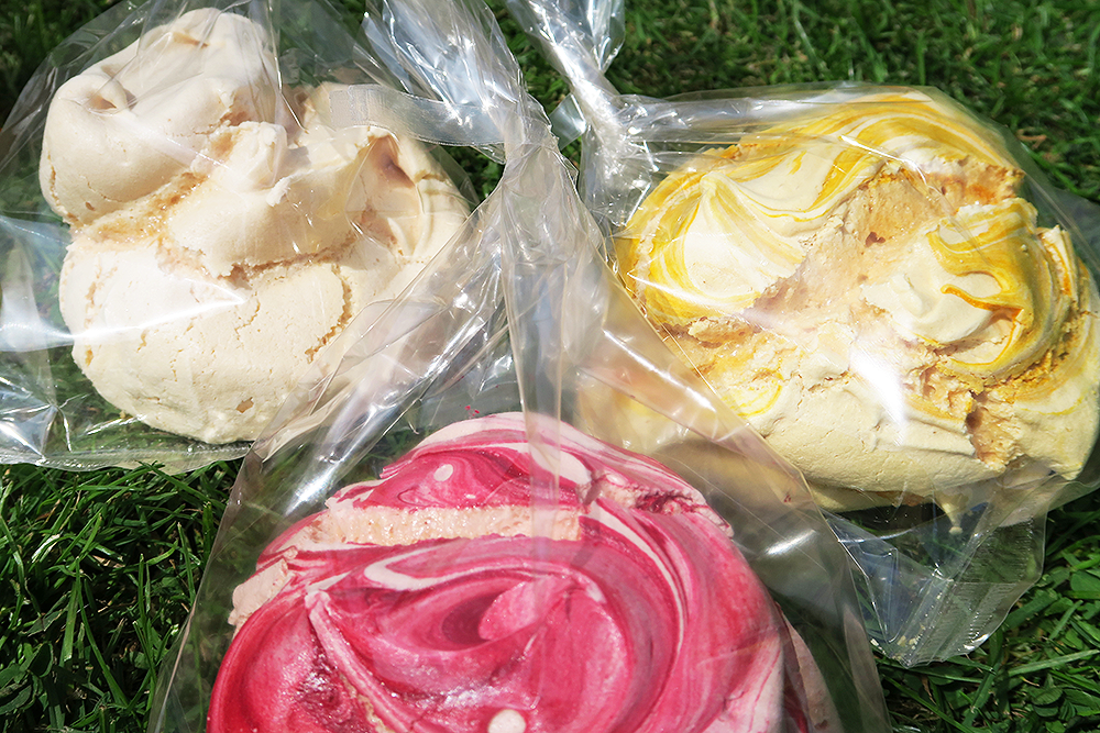 Meringues from The Sawley Kitchen at Kirkstall Deli Market