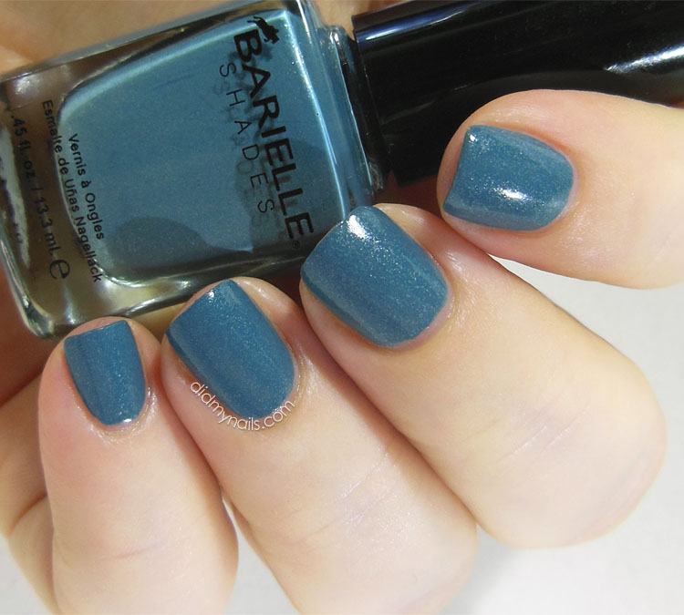 Barielle Blue Cotton Candy swatch
