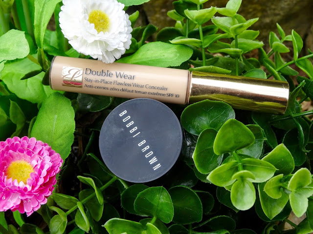 Estee Lauder Double Wear and Bobbi Brown Creamy Concealer