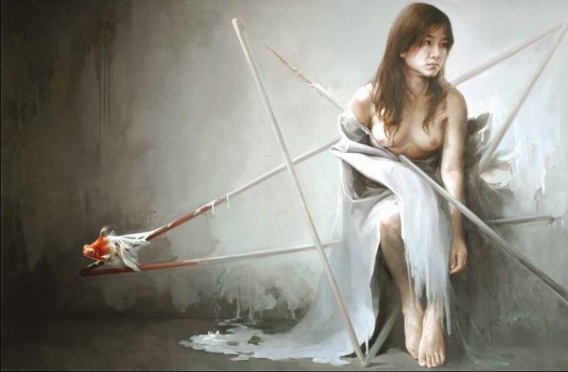 D.W.C. Chinese Woman - Painter Wanghong Zheng
