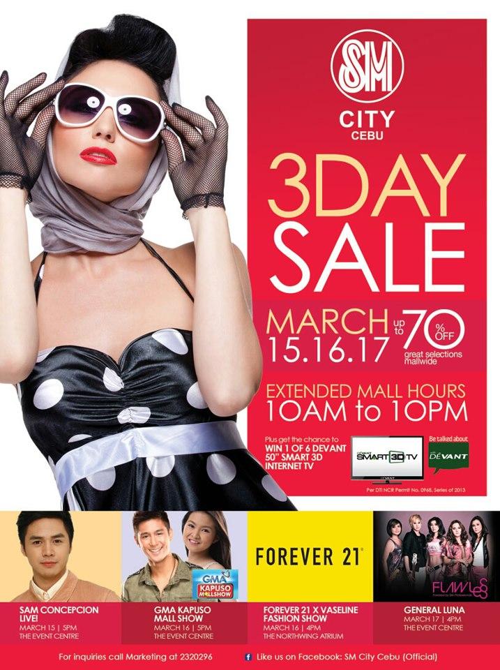 SM City Cebu Sale
