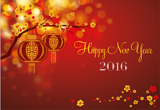 Background Happy New Year 2016