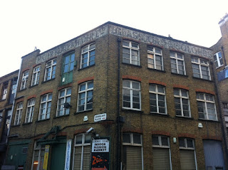 Ghost sign in Camden, London NW1