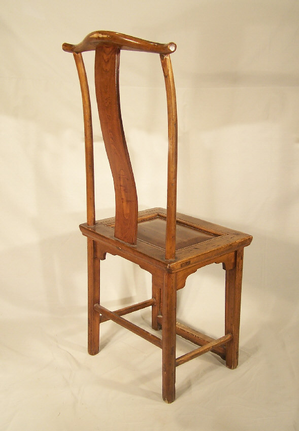 The Chinese Horseshoe Chair Also Originated In The Ming Dynasty. It Uses A  Slightly Different Shape Than The Yoke Back, That Of A Horseshoe.