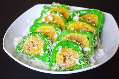 Kue Singkong Isi Pisang
