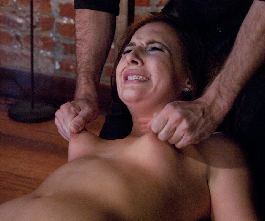 Hard squeeze breast pain