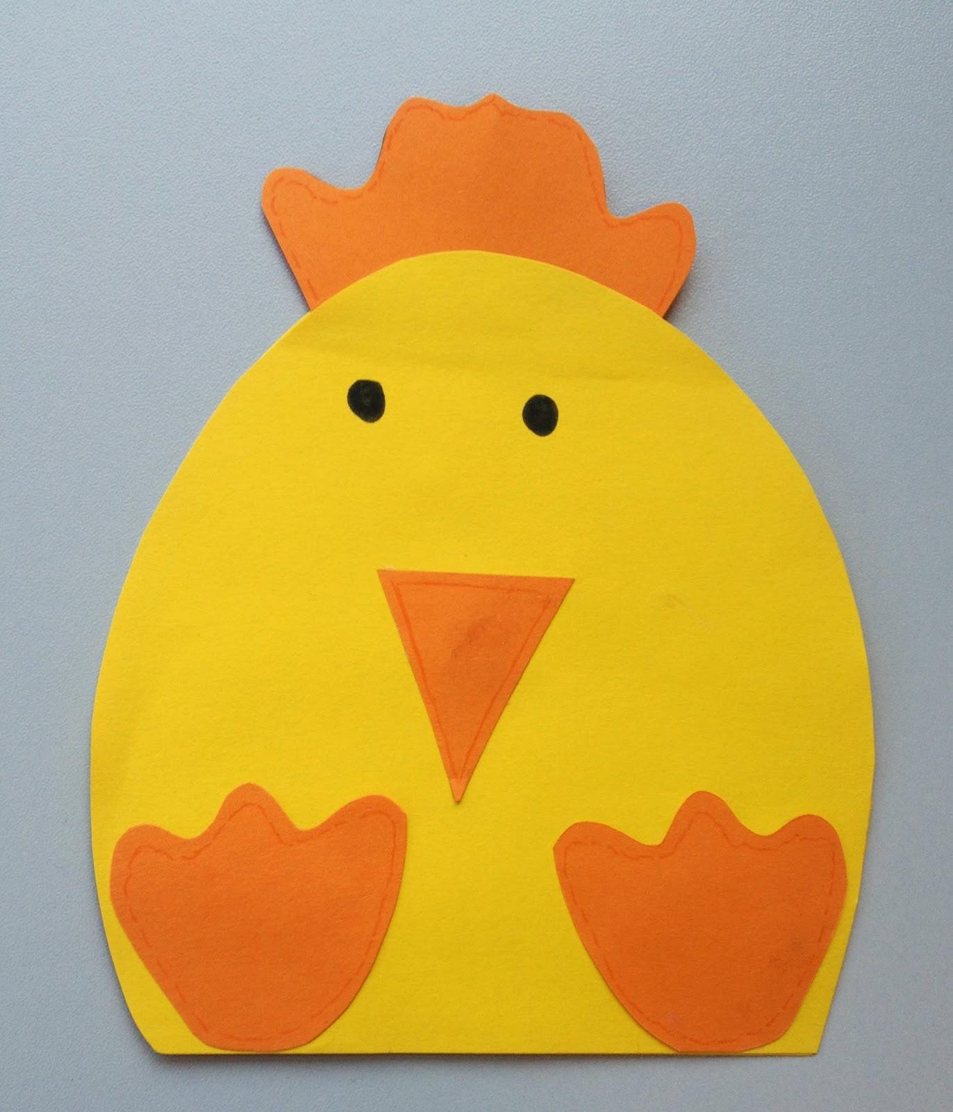 Klassenkunst Fensterbild Ostern