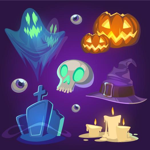 Elementos de Halloween 1