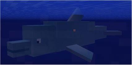 Mo' Creatures delfín Minecraft mod