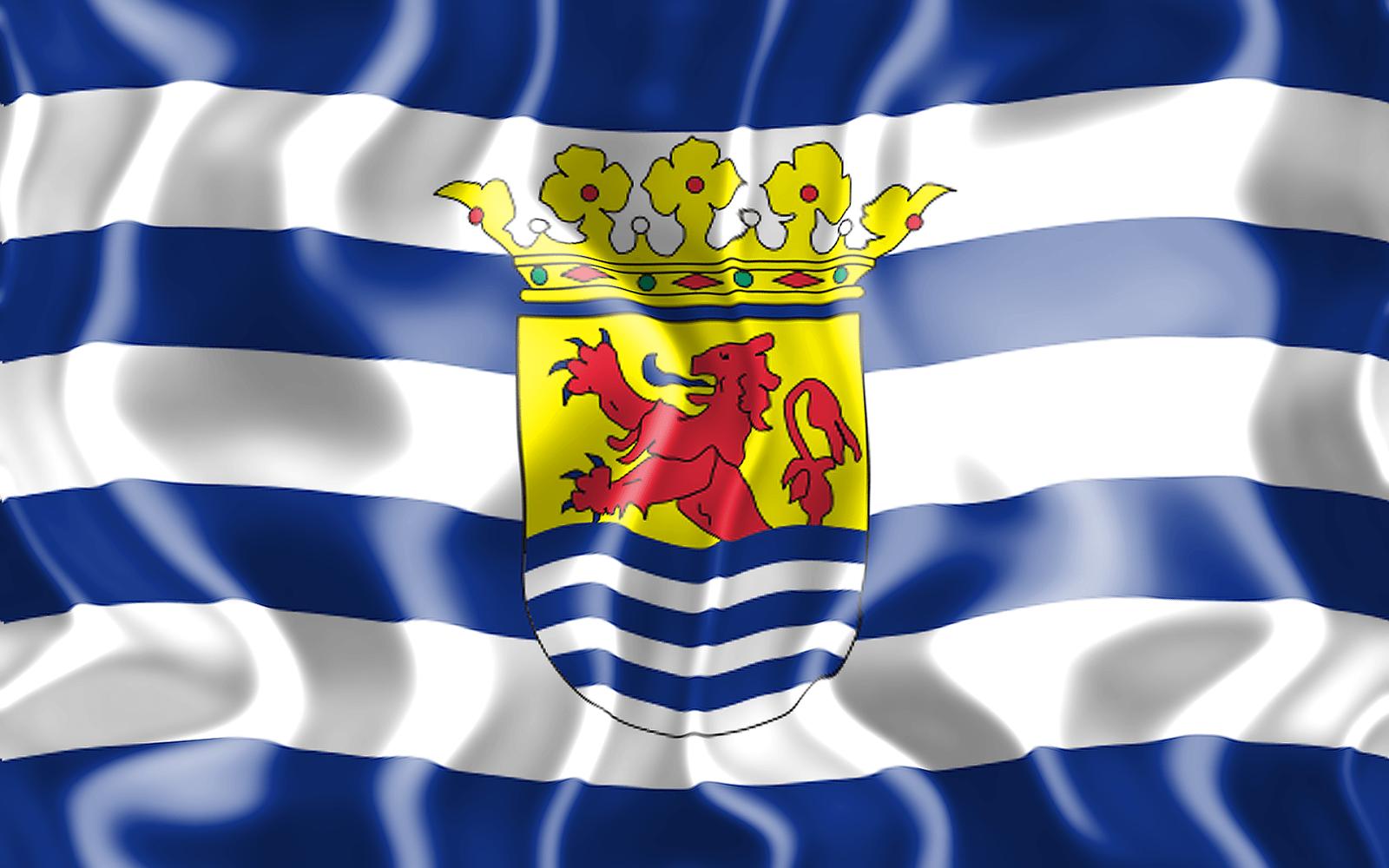 3D vlag van Zeeland