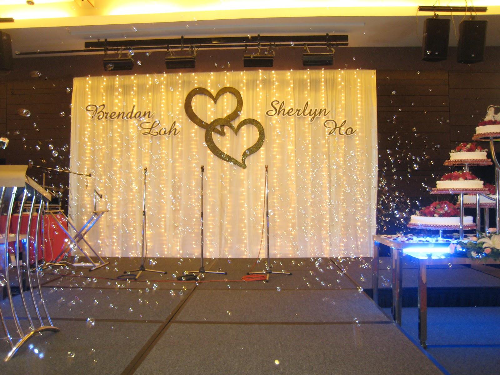 Penang Wedding Decoration \