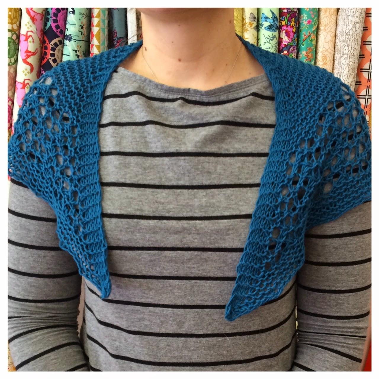 Home Ec Workshop: Knitting: Mini Faroese Shawl